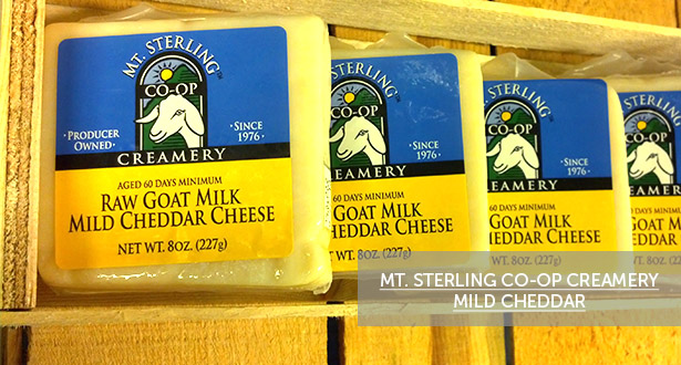 Cheese of the Month: Mt. Sterling Co-op Creamery